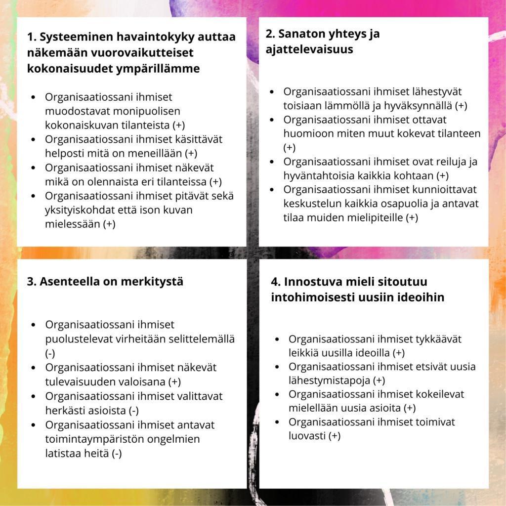 organisaation toimintakulttuuri